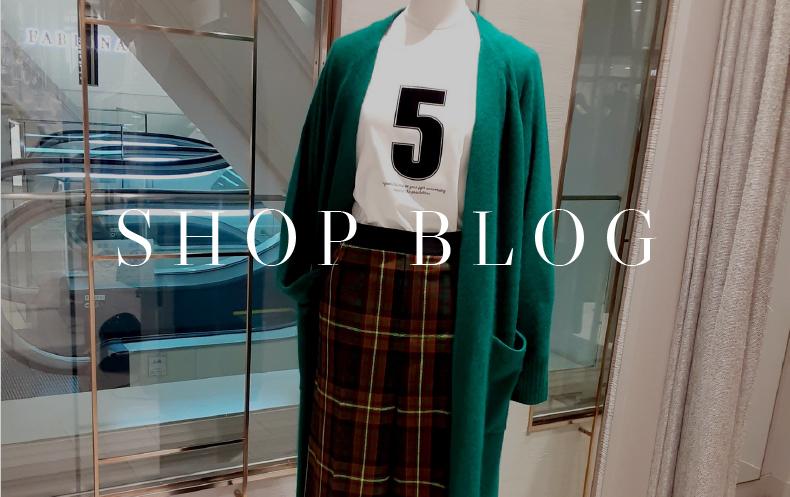 SHOP BLOG 日本橋高島屋『チェックの恋しい季節』