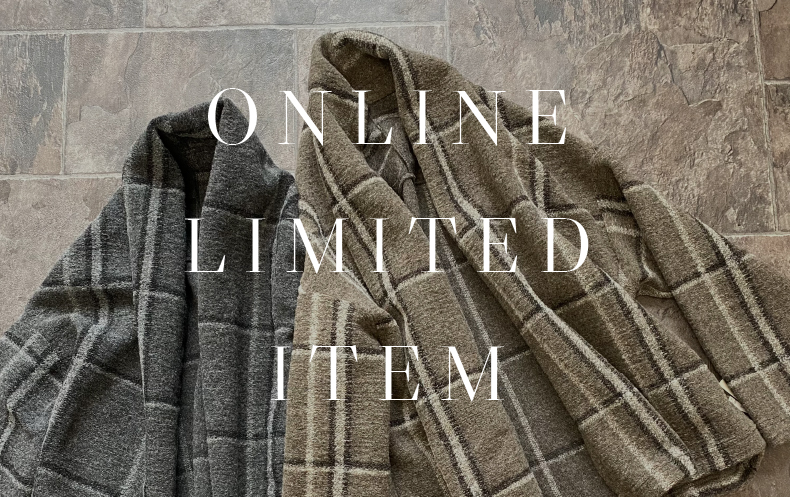 【Online Limited Item】イタリアンエアリーチェックジャケット